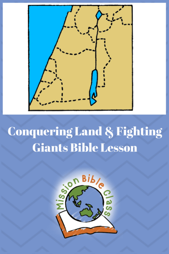 Conquering Land _ Fighting Giants Pin