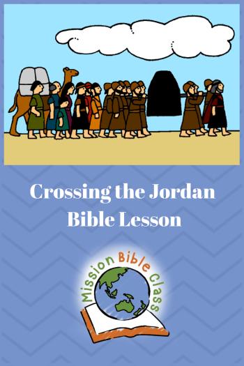 crossing the jordan river crafts for kids