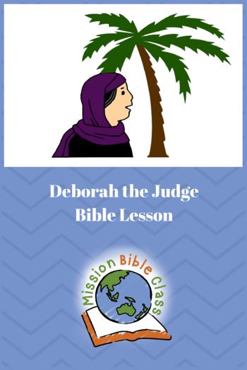 Deborah the Judge Pin