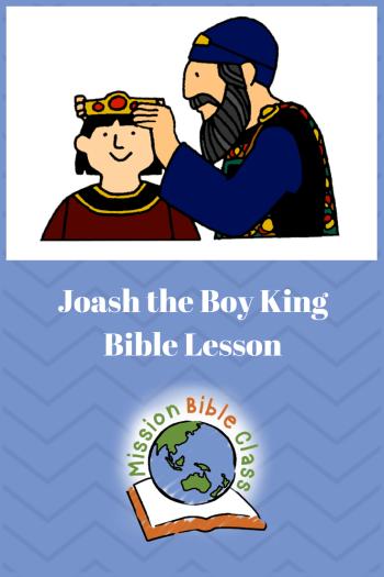 bible coloring pages joash - photo#26