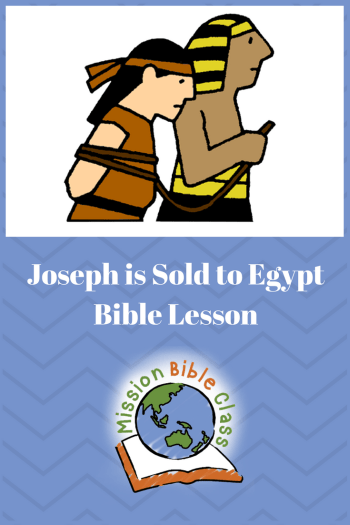 Joseph is Sold by His Brothers Pin