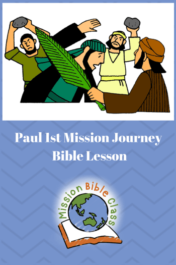 bible story pictures paul and barnabas teaching