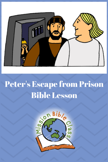 Peter_s Miraculous Escape from Prison Pin
