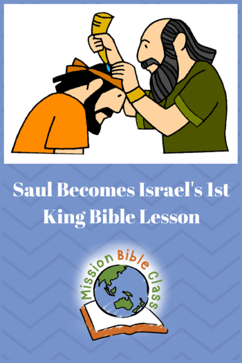 Saul Becomes Israel_s First King Pin