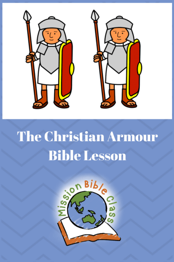 The Christian Armour Pin