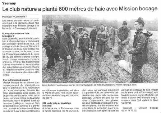 Ouest France. 28 Décembre 2013.