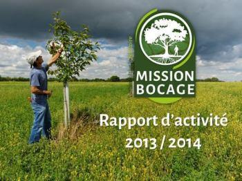 rapport d'activité 2013 2014 mission bocage