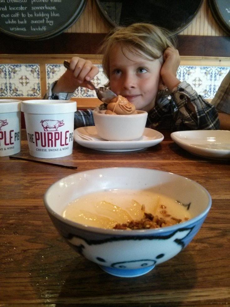 Dessert Hour au purple pig