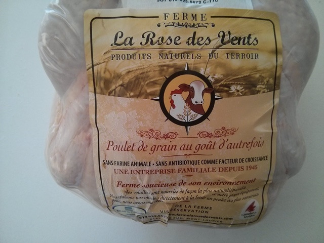 Poulet La rose des vents
