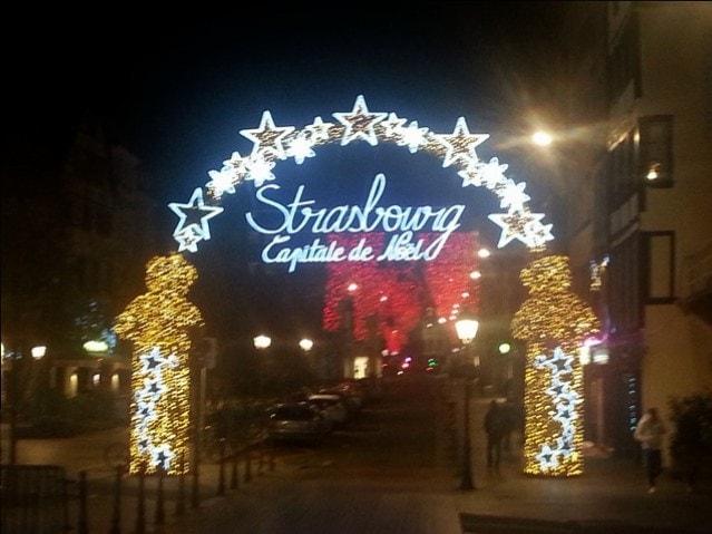 Strasbourg marchée de Noel