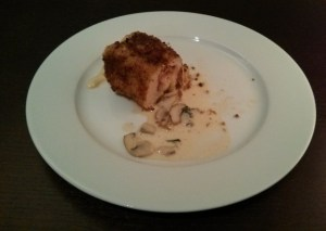 poulet cordon bleu 1e version