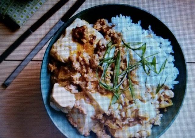 porc et tofu
