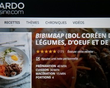 Explorer la cuisine coréenne: Mission avec le nom de code «Omma»