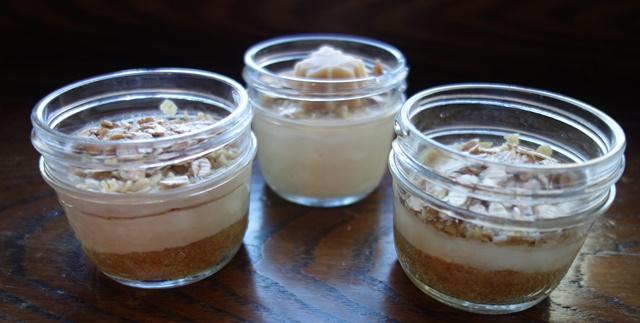 mini cheese cake sucre érable