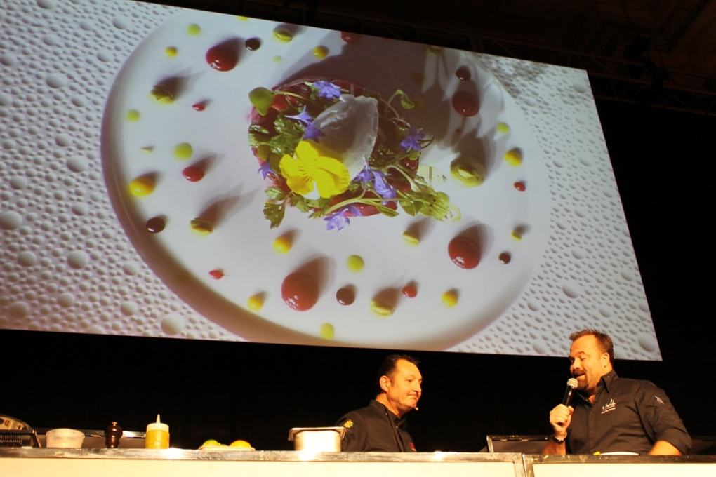 Foodcamp 2017 - Éric Gonzalez tartare betteraves 3