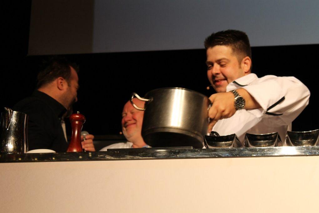 Foodcamp 2017 - Olivier de Montigny et Marc de Canck La Chronique