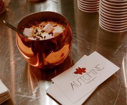 Le fabuleux Chocolat chaud façon Forêt Noire de la Boulangerie Automne