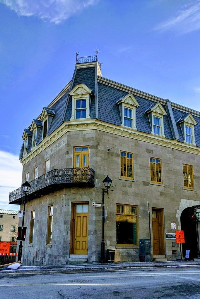 édifice Vieux Montréal