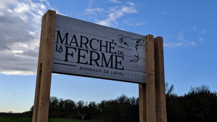 Un nouveau point de vente pour Agneaux de Laval