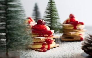 Sapin de Noël crème de mascarpone Ines Gauthie