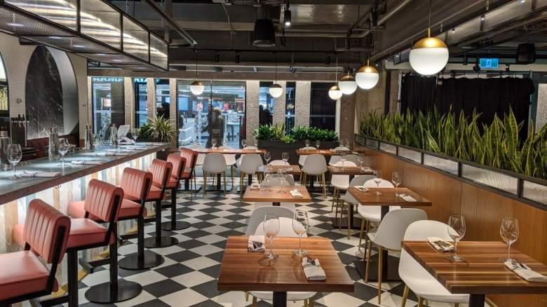 La brasserie Mirabel Mission Cuisine Urbaine Le cathcart et Biergarten