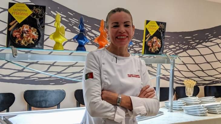 Helena Loureiro et son livre 80 recettes portugaises pour ensoleiller votre table