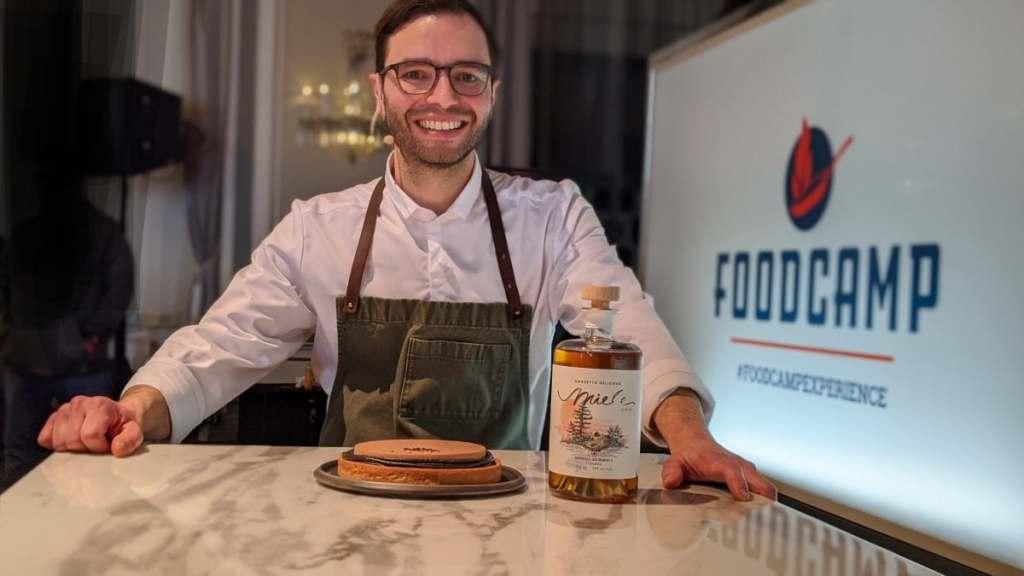 Patrice Demers pâtissier FoodCamp Qc