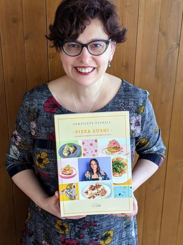 Livre de recettes Pizza Sushi Geneviève Everell