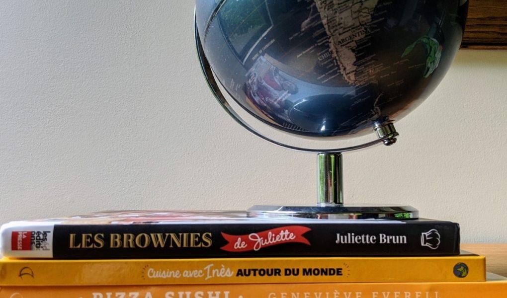 livres de recettes pour voyager