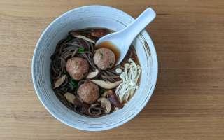 soupe japonaise soba dindon