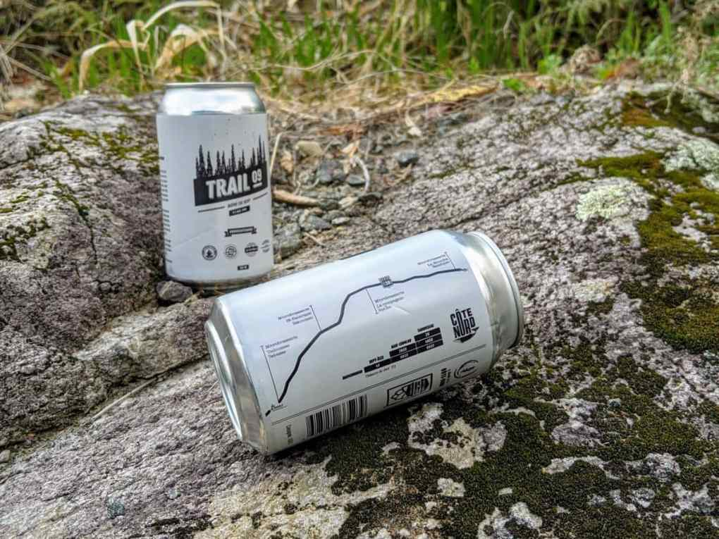 La trail 09 une bière collaborative