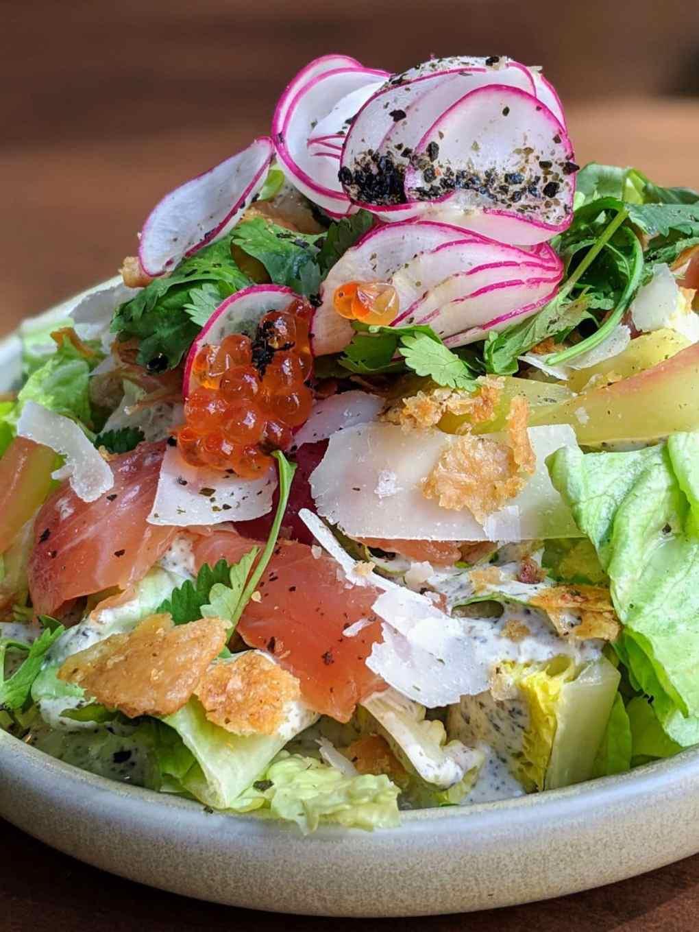 Salade Cesar japonaise