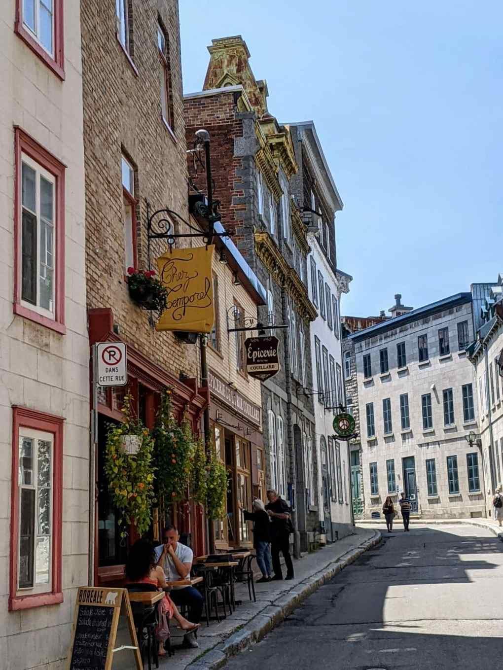 Rue Couillard Chez Temporel