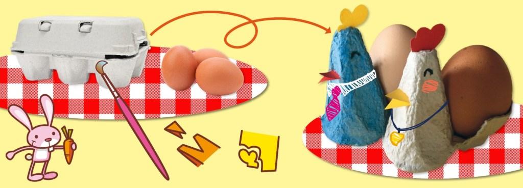 Uova e porta uova