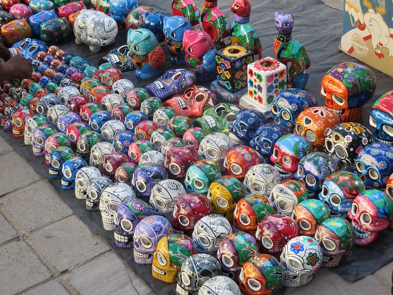 Chinese Alebrijes, Oaxaca, Dave Millers Mexico