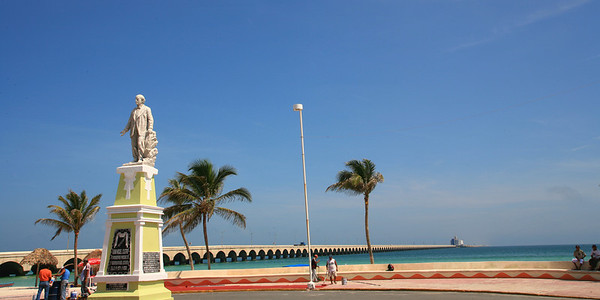 Progreso Beach, Yucatan, Merida, Playa, Dave Millers Mexico