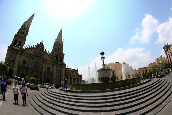 Cathedral Guadalajara, Dave Millers Mexico
