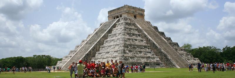 Kukulkan Pyramid, Chichen-Itza, Yucatan, Tourism, Dave Millers Mexico