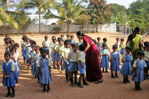 maternelle - école de Ganjam