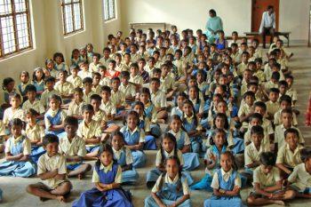 Ecole de Ganjam rassemblement