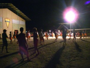 32. Bora Bora locals from 13 years and up practiced their Polynesian dances.  This group was the Nunue dance troup from Vaitape, Bora Bora.