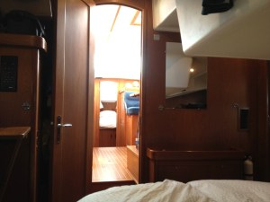 39. Aft stateroom looking forward.