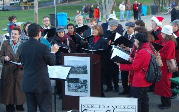 Carols Celebrate Dolores Park Playground