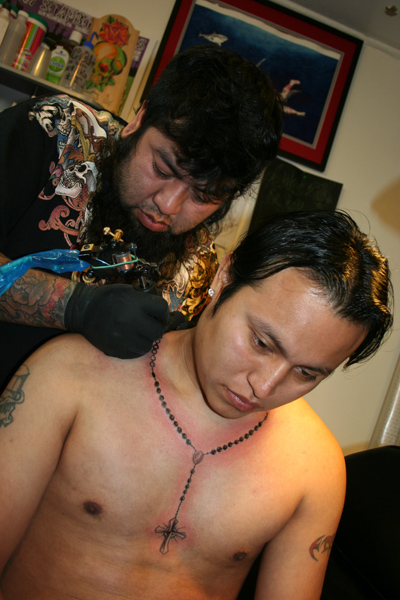 It's brought luck and bucks to the 2-year-old tattoo and piercing shop.