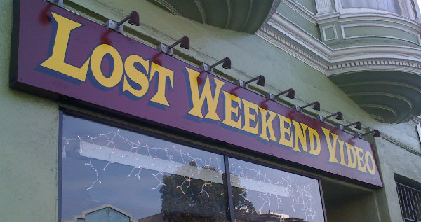 Valencia Street's Lost Weekend Video is weathering the recession in style.