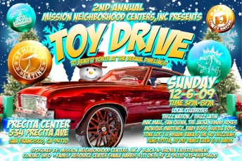 Flier put out for this year's drive.