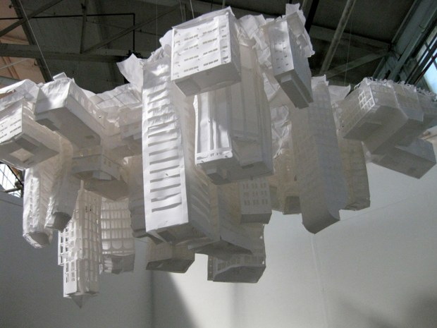"""Claire Jackel's """"Gravity Always Wins"""" opens at the Lab on Friday."""