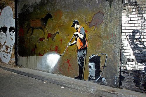 Banksy, Satirical Stenciling and a Graffiti Manifesto