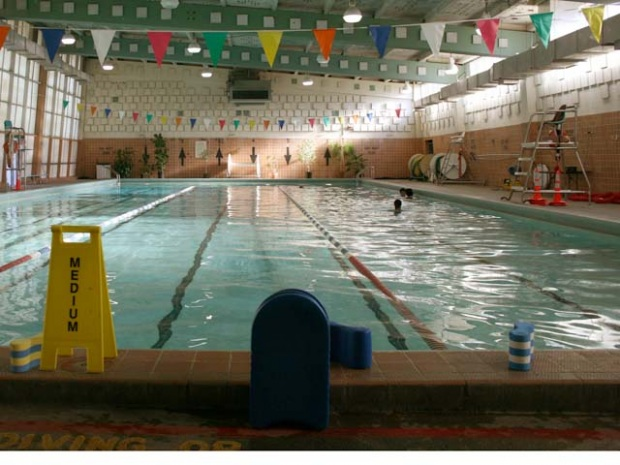Garfield Pool in 2009