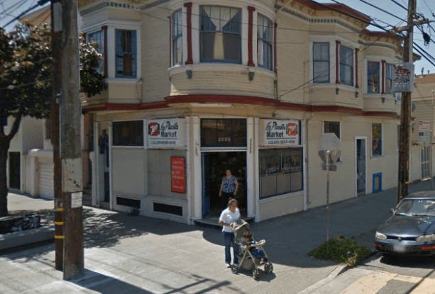 Formerly La Placita Market, a neighbor wants to turn the space into a restaurant (photo courtesy of google maps)